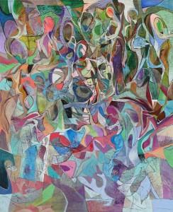 İstek - Tuval üzerine akrilik boya - 2014 - 105x85cm